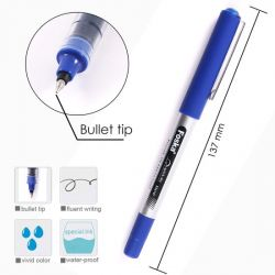 Στυλό FOSKA Roller Υγρής Μελάνης με Καπάκι Πάχος μύτης 0,5mm .
